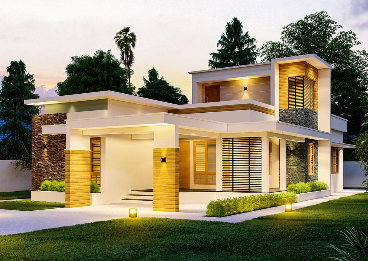広い住宅の写真